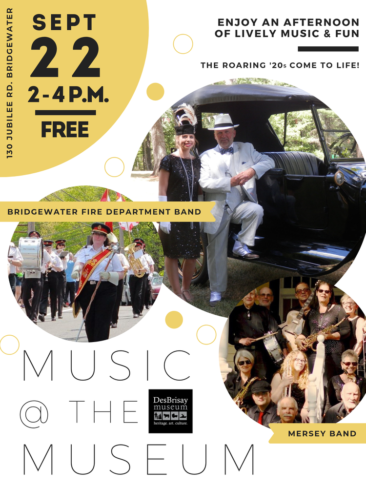 Music at the Museum 2019 Promo Poster