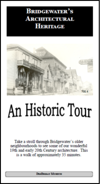 an historic tour cover