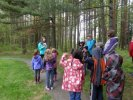 Nature Tour with Grade one class